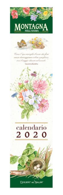 Writersfactory.it Montagna. Calendario mini 2020 Image