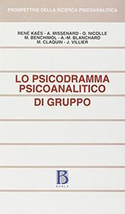 Lo psicodramma psicoanalitico di gruppo
