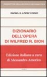 Dizionario dell'opera di Wilfred R. Bion
