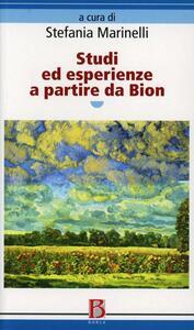 Studi ed esperienze a partire da Bion