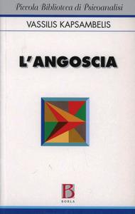 Libro L' angoscia Vassilis Kapsambelis