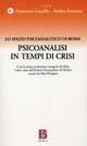 Psicoanalisi in tempi di crisi
