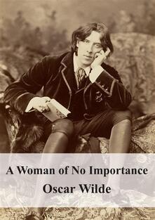 Awoman of no importance