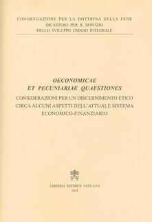 Filippodegasperi.it Oeconomicae et pecuniariae quaestiones. Considerazioni per un discernimento etico circa alcuni aspetti dell'attuale sistema economico-finanziario Image