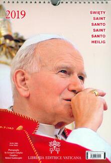 Santo Giovanni Paolo II. Calendario 2019 - copertina