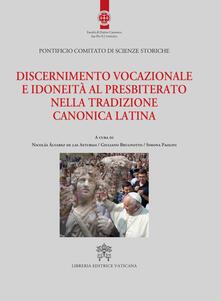 Discernimento vocazionale e idoneità al presbiterato nella tradizione canonica latina - copertina