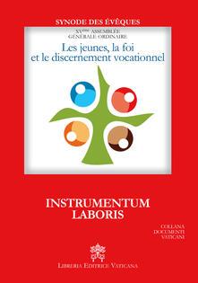 Les Jeunes, la foi et le discernement vocationnel. Instrumentum laboris - copertina