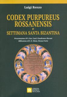 Voluntariadobaleares2014.es Codex purpureus rossanensis e settimana santa bizantina Image