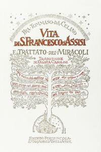 Libro Vita di s. Francesco-Trattato dei miracoli Tommaso da Celano