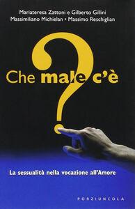 Foto Cover di Che male c'è? La sessualità nella vocazione all'amore, Libro di Mariateresa Zattoni,Gilberto Gillini, edito da Porziuncola
