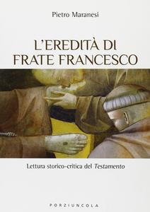 Libro Eredità di frate Francesco Pietro Maranesi