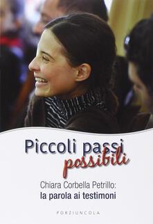 Piccoli passi possibili. Chiara Corbella Petrillo: la parola ai testimoni.pdf