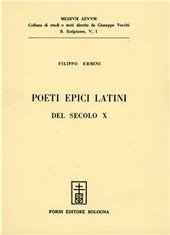 Poeti epici latini del secolo X (rist. anast. 1920)