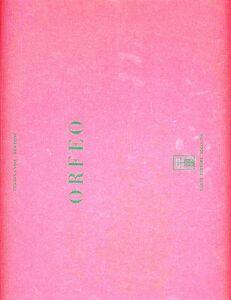 Libro Orfeo (rist. anast. Venezia, 1776) Ferdinando G. Bertoni