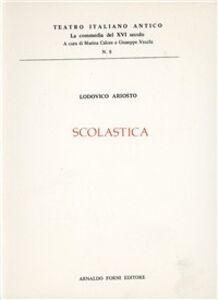 Libro Scolastica (rist. anast. 1547) Ludovico Ariosto