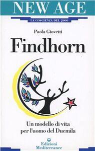 Libro Findhorn Paola Giovetti