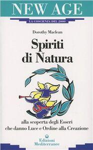 Libro Spiriti di natura Dorothy McLean