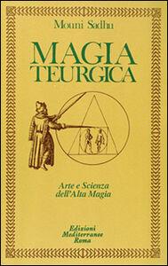 Libro Magia teurgica Mouni Sadhu