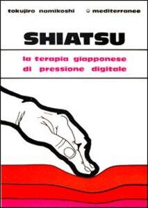 Libro Shiatsu Tokujiro Namikoshi