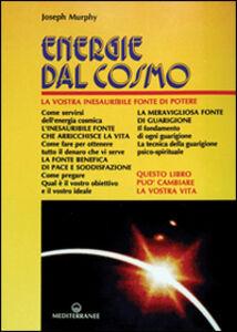 Libro Energie dal cosmo Joseph Murphy