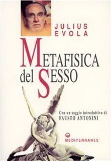 Metafisica del sesso - Julius Evola - copertina