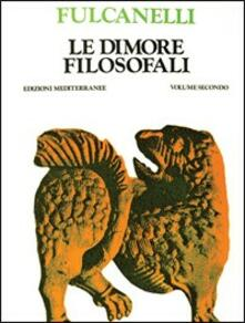 Le dimore filosofali - Fulcanelli - copertina