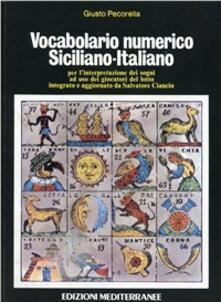 Vocabolario numerico siciliano-italiano