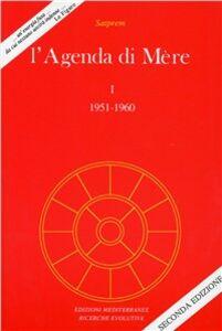 Libro L' agenda di Mère. Vol. 1 Satprem