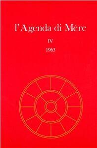Libro L' agenda di Mère. Vol. 4 Satprem