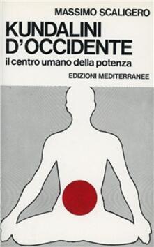 Kundalini d'Occidente - Massimo Scaligero - copertina