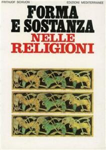 Forma e sostanza nelle religioni