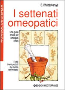 Libro I settenati omeopatici Benoytosh Bhattacharyya