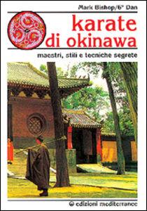 Libro Karatè di Okinawa Mark Bishop