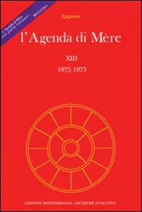 Libro L' agenda di Mère. Vol. 13 Satprem