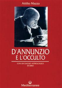 Libro D'Annunzio e l'occulto Attilio Mazza