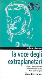 Libro La voce degli extraplanetari Ashtar Sheran