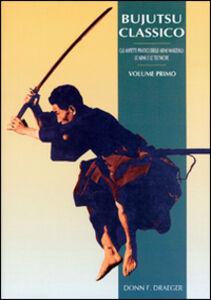 Libro Bujutsu classico Donn F. Draeger