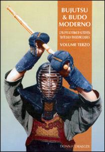 Libro Bujutsu e budo moderno Donn F. Draeger