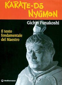 Libro Karate do nyumon. Il testo fondamentale del maestro Gichin Funakoshi