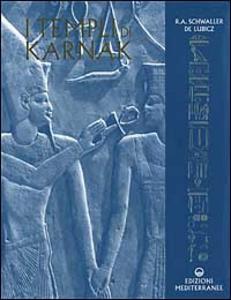 Libro I templi di Karnak Rene A. Schwaller de Lubicz