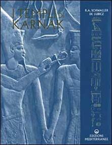 I templi di Karnak - Rene A. Schwaller de Lubicz - copertina