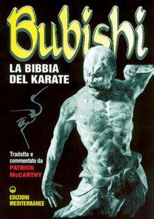 Bubishi. La bibbia del karate - Patrick McCarthy - copertina