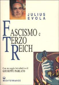 Libro Fascismo e Terzo Reich Julius Evola