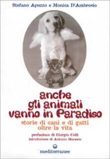 Anche gli animali vanno in paradiso. Storie di cani e gatti oltre la vita - Stefano Apuzzo,Monica D'Ambrosio - copertina