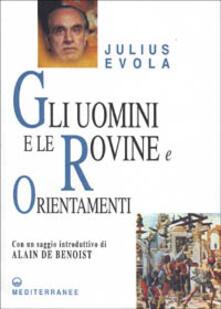 Gli uomini e le rovine - Julius Evola - copertina