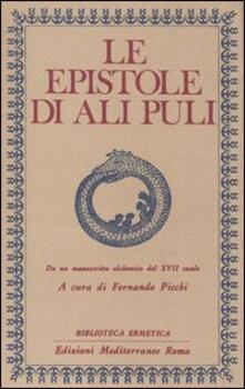 Le epistole di Ali Puli. Da un manoscritto alchemico del XVII secolo.pdf