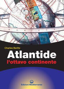 Atlantide. L'ottavo continente - Charles Berlitz - copertina