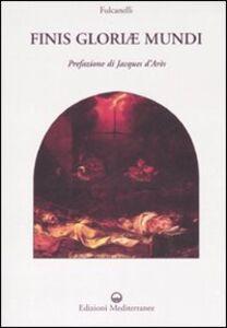 Foto Cover di Finis gloriae mundi, Libro di Fulcanelli, edito da Edizioni Mediterranee