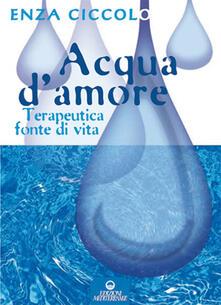 Festivalpatudocanario.es Acqua d'amore. Terapeutica fonte di vita. Ediz. illustrata Image