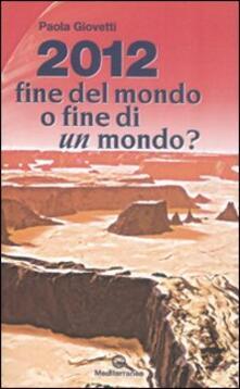 Premioquesti.it 2012: fine del mondo o fine di un mondo? Image